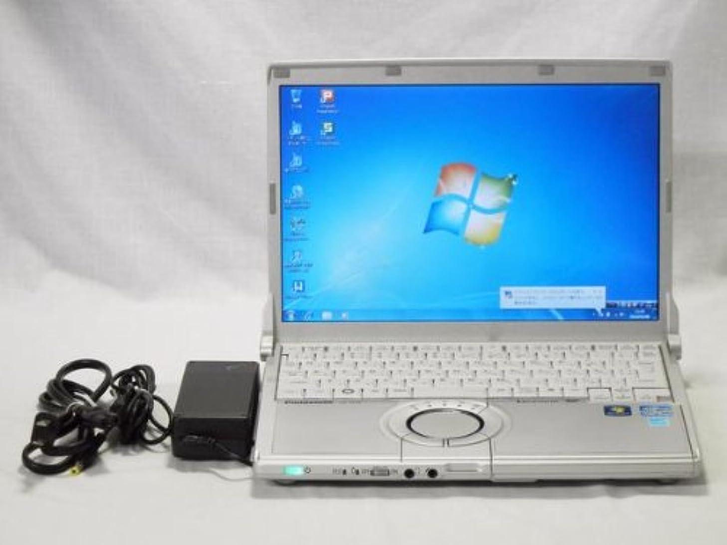 カウンターパート廃止バーマド【中古】Panasonic Let's note N10 (CF-N10AWHDS) i5 2520M(2.5GHz) メモリー4GB HDD250GB 無線 Win7 DtoD有