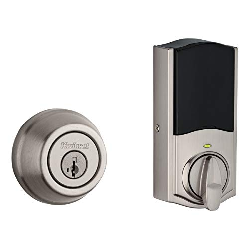 The Traditional Signature Series Deadbolt with Home Connect technology enables the lock to wirelessly communicate with other devices in home. The lock allows the user (through a third-party smart home controller) to remotely check the door lock status, lo