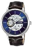 Pulsar Classic Montre Homme Analogique Automatique avec Bracelet Cuir P8A007X1