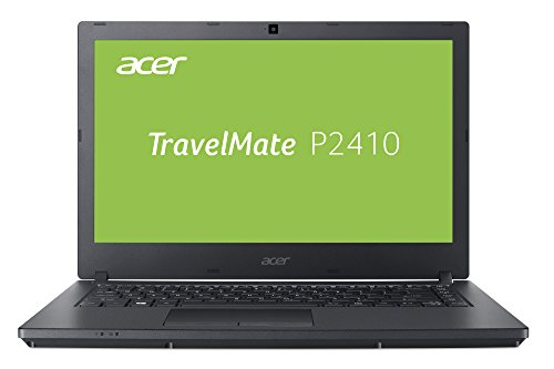 Acer TravelMate P2410 (TMP2410-G2-M-340X) 35,6 cm (14 Zoll Full-HD IPS matt) Business-Laptop (Intel Core i3-8130U, 8 GB RAM, 256 GB SSD, Intel UHD, Win 10 Pro) schwarz