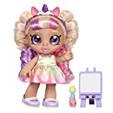Kindi Kids Muñeca Infantil – Mystabella Unicorn Dress Up – Incluye 2 Trajes y Accesorios Shopkins