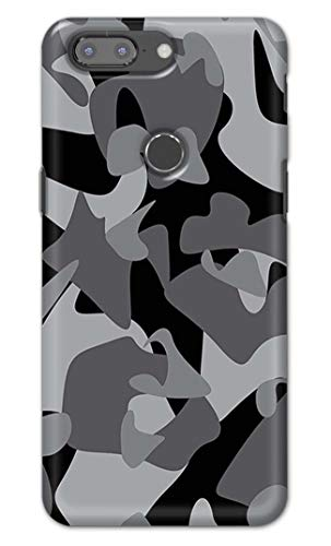 RGSVCases Army Camouflage Pattern Printed Designer Hard Back Case Cover for OnePlus 5T -(CU) RSV2006