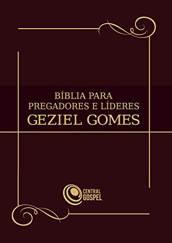Bíblia para pregadores e líderes