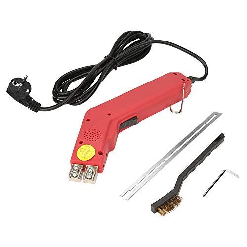 HEEPDD Moosgummi Cutter Kit, 200W Moosgummi Cutter Klinge Hochleistungs-Schneidwerkzeug Produktion Schneiden von flexiblen Kunststoff-Schaumbürstenschlüssel(EU-Stecker 220-240V)