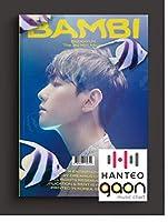 Baekhyun(ベッキョン) -Bambi [Photobook Bambi ver.] (3rd Mini Album) [予約限定特典提供] CD+フォトブック+折りたたみポスター+Others with Tracking+追加 フォトカード, ステッカー