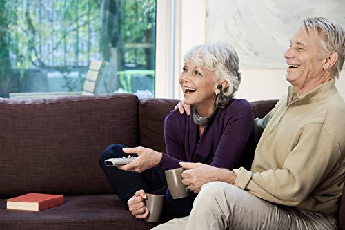 Philips E8005BK/10 Écouteurs TV sans Fil Intra-Auriculaires avec Connexion Numérique sans Fil (Portée 40 m, Marche/Arrêt Automatique, Modes Audio Prédéfinis, Compatibilité Élevée) - Modèle 2020/2021