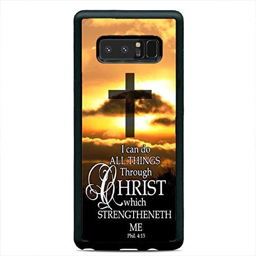 Bible Verse Cross Christian Case Jesus Slim Hard Rubber Custom Case Cover for Samsung Galaxy S21 Ultra S20+ S10 S9 Plus