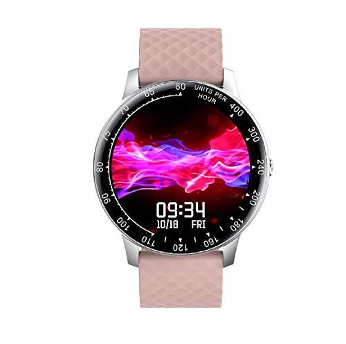 Reloj inteligente, rastreador de actividad física con monitor de frecuencia cardíaca de presión arterial, IP67, impermeable, Bluetooth, pulsera inteligente