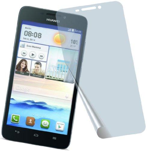 I 4X Huawei Ascend G730 ENTSPIEGELNDE Premium Bildschirmschutzfolie Displayschutzfolie Schutzhülle Bildschirmschutz Bildschirmfolie Folie