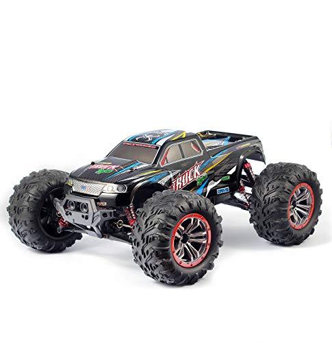 Hosim Fergesteuertes Auto, RC Crawler 1:10, 46 km/h LKW, Spielzeugauto für Erwachsene Und Kinder (Blau)