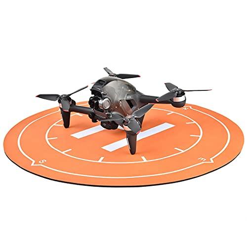 Legendog Drone Atterraggio Pad Impermeabile Universale Morbido Gomma Morbida 19.68In Pieghevole Drone Helipad Helicopter Rc Versatile Quadcopter