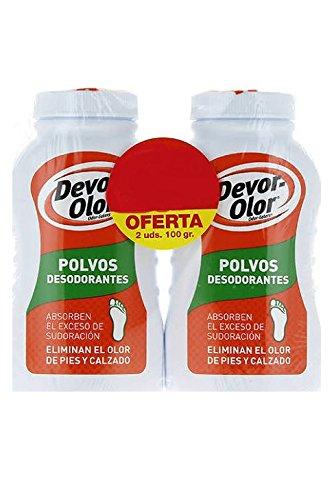 Duplo DEVOR-OLOR polvos desodorantes 2x100 gr.
