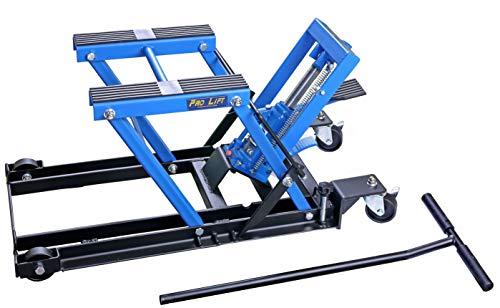 Pro-Lift-Werkzeuge Motorrad-Heber Montageständer Lift 680 kg Motorradbühne Hebebühne Arbeitsbühne Motorrad-Lift parallel