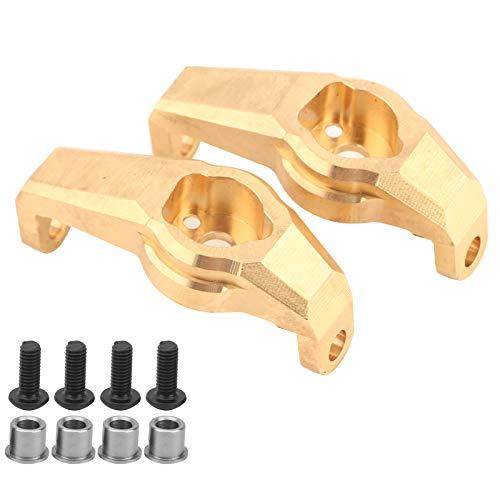 CUTULAMO Heavy Duty Messing Vorderradnabenträger Goldener Messing Vorderradnabenträger zur Erhöhung des Reifengewichts