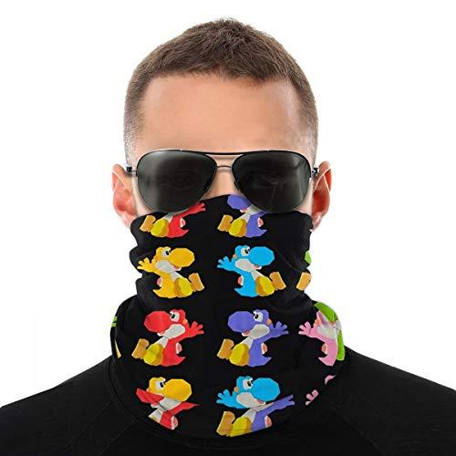 Wuyouhua Yiayatee Paper Craft Yoshis Yoshi&39s Crafted World Stickers Sorte Kopftuch,Gesichtstuch,Schal, Unisex,Geeignet Für Outdoor-Sportarten