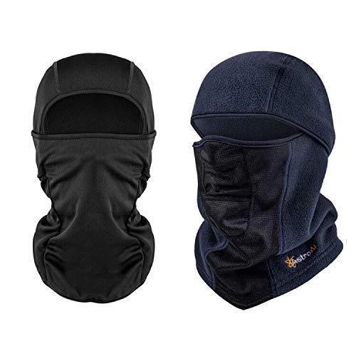 AstroAI Sun and UV Protection Balaclava and Windproof Ski Mask Bundle
