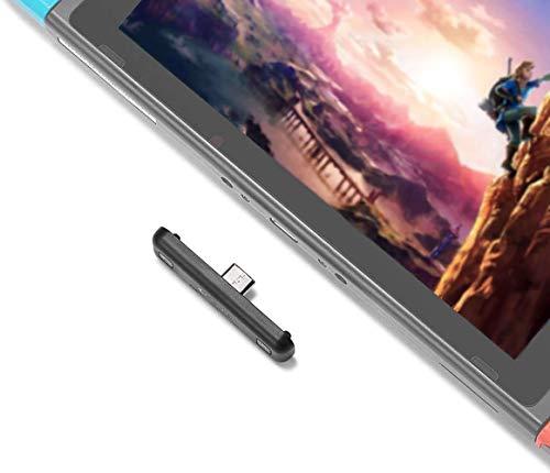 Nintendo Switch PS4 PC 用 Bluetoothオーディオアダプター 超薄型 無線 ワイヤレスレシーバー ワイヤレス ...