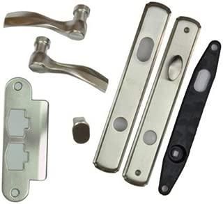 Andersen® Newbury Style (Single Active) Hinged Door Hardware Set in Satin Nickel