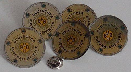 Borussia Dortmund BVB 09 Pin Meisterschale Pins 5 Stück