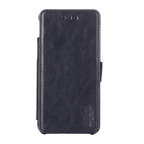Oujietong KHJBK Funda para MEIZU M5 Note Funda Carcasa Case Cover - Black