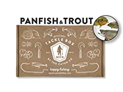 INSIDE EACH BOX: Each Mystery Tackle Box contains about $25 retail value of the best quality fishing lures specifically designed for freshwater Panfish including Crappie, Bluegill, and Perch and Trout including Rainbow, Brown, Brook, and Cutthroat Tr...
