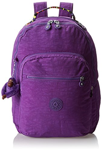 Kipling Seoul Solid Laptop Backpack Tile Purple Size: One Size
