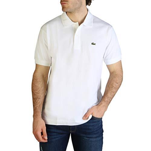 Lacoste L1212, Polo Homme, Blanc, XL