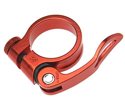 Abrazadera para sillín de bicicleta de 34,9 mm, de aleación de aluminio,...