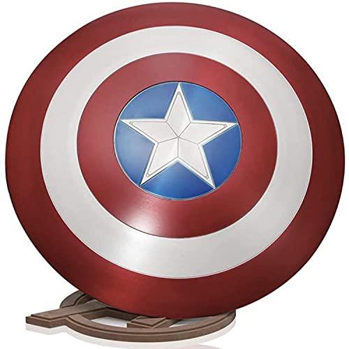 Marvel Captain America Shield Disfraz, Earth Metal Shield Avengers Captain America, Kit...