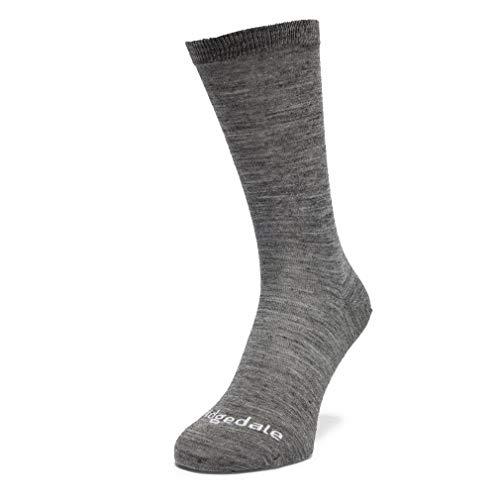 Bridgedale Thermal Liner Socks 2 Pack, Grigio, L