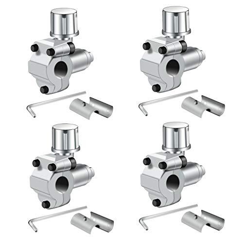 "Trounistro 4 Pack BPV-31 Bullet Piercing Valve Line Tap Valve Kits Adjustable Valve for Air Conditioners HVAC 1/4"", 5/16"", 3/8"" Tubing"