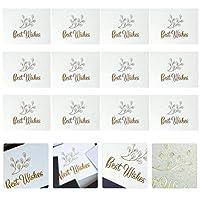 Lurrose ポップアップカード グリーティングカード 誕生日カード メッセージカード お祝い 結婚式 感謝 誕生日用 100枚入り(カラー1)