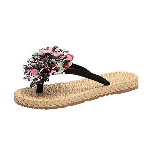 MIRRAY Neue Sommermode Outdoor Casual Sportschuhe Flip-Flops Leichte Strandblumensandalen und Hausschuhe
