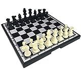 TTXS Internacional de ajedrez Internacional de Ajedrez Extra Grande Magnetie plástico ajedrez magnético Juego de Mesa del ajedrez de Regalo de cumpleaños de Navidad Piezas ajedrez