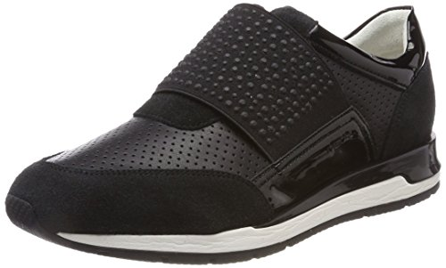 Geox D Shahira A, Zapatillas para Mujer, Negro (Black), 39 EU