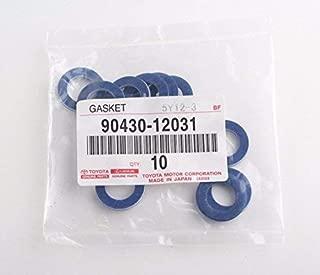 TOYOTA Genuine Oil Drain Plug Gaskets (QTY10) - 90430-12031
