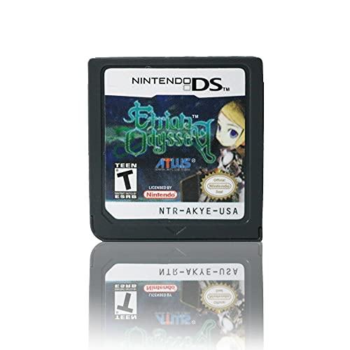 UGUTER 208 en 1 Cartucho de Juego para Nintendo DS Nintendo Etria Odyssey DS Green Witon DSI DSL 2DS 3DS Carta de Juego 482 en 1 Cartucho de Juego para Nintendo DS (Tamaño : Etrian Odyssey)