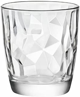 Bormioli Rocco Diamond Double Old Fashioned Gläser, transparent, 6 Stück