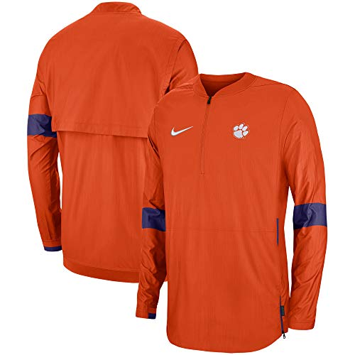 Nike Men's Clemson Tigers Lightweight Coaches Jacket (XX-Large)