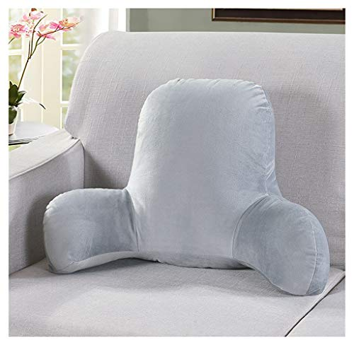 CJY-Cushion Rückenkissen mit Armlehne,Rückenkissen Bürostuhl, Lendenkissen Körperkurve Memory Foam Lendenkissen für Zuhause, Büro, Auto, Haltungskorrektur, Entlastung des Rückenreifens,C,52X38X20cm