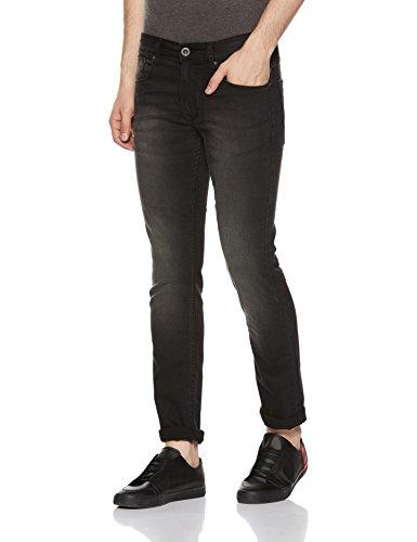 Pepe Jeans Men's Skinny Fit Jeans (PM204337G85_Black_30W x 32L)