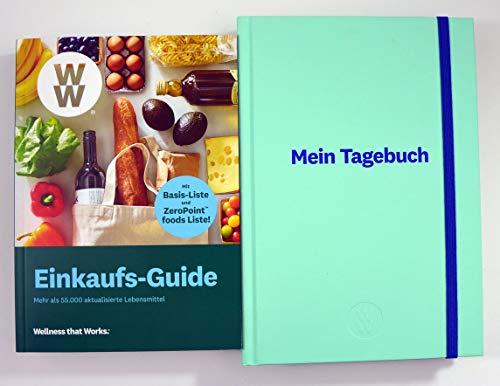 Weight Watchers Einkaufs-Guide + Mein Tagebuch Mint 2019