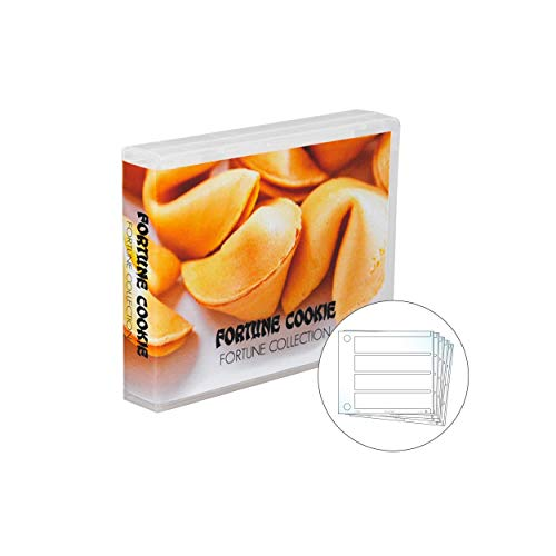 Fortune Cookie Fortune Collection Case, 10 Pages, Holds 40 Fortunes - Cookies