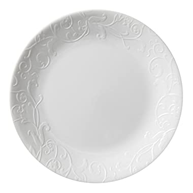 Corelle Embossed Bella Faenza 8.5  Lunch Plate (Set of 4)