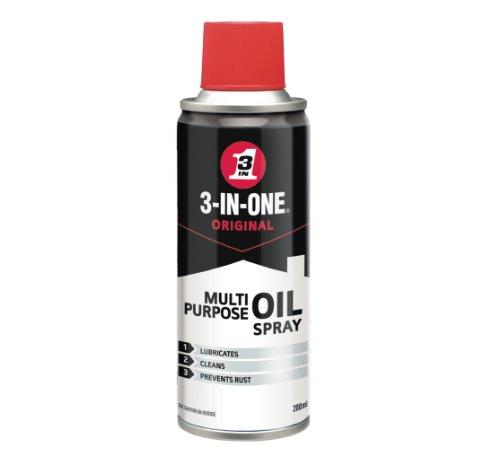 3-IN-ONE Multi Purpose Oil Spray with PTFE 200ml