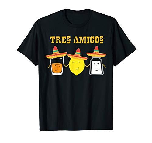 Tequila Shirt Hola zu Salz und Zitrone Fiesta Party Geschenk T-Shirt