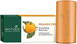 Biotique Bio Orange Peel Revitalizing Body Soap, 150g