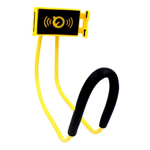 AIREQN Nuevo sostenedor del teléfono móvil colgado del Cuello Lazy Collar del Soporte del Color del Soporte Cama Móviles Titular for el sostenedor del teléfono Inteligente iPhone Huawei Soportes