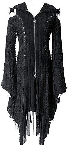 Dark Dreams Gothic Mittelalter LARP Mantel   Jacke Misanthrope, Größe M
