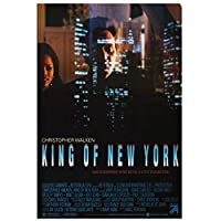 キングオブニューヨーク映画ウォールアートポスターHdプリントキャンバス絵画家の装飾リビングルームアートワークギフト寝室の装飾-50x75CMフレームなし